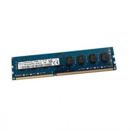 4Go RAM PC Bureau Hynix HMT351U6CFR8C-PB N0 AA DDR3 PC3-12800U 1600Mhz 2Rx8 CL11