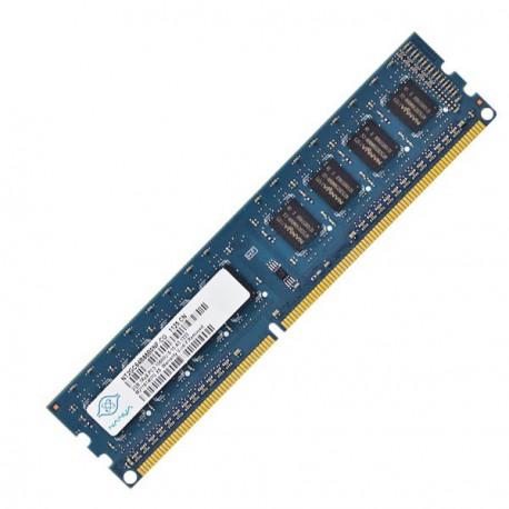 2Go RAM PC Bureau NANYA NT2GC64B8HC0NF-CG DIMM DDR3 PC3-10600U 1333Mhz 2Rx8 CL9