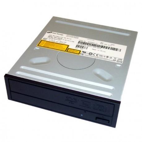 Graveur interne CD/DVD+R/+RW HP GWA-4166B DL 40x-40x-16x-16x IDE ATA Noir Tiroir