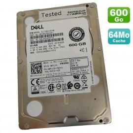"Disque Dur 600Go 2.5"" SAS DELL AL13SXL600N HDE9E00DAA51 0WPJY9 WPJY9 15K 64Mo"