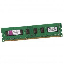 2Go RAM KINGSTON KTH9600B/2G DIMM DDR3 PC3-10600U 1333Mhz 240-Pin PC Bureau 1.5v