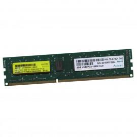 2Go RAM Apacer 75.A73C1.G02 DIMM DDR3 PC3-10600U 1333Mhz 240-Pin 1.5v CL9