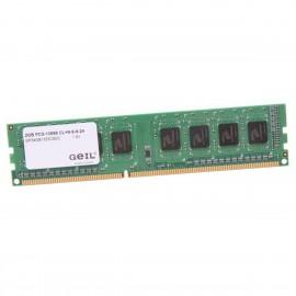 2Go RAM GEIL GP34GB1333C9DC DIMM DDR3 PC3-10600U 1333Mhz 240-Pin 1.5v CL9