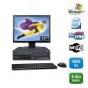 """Lot PC Lenovo M55 8810 Intel E4300 1.8Ghz 2Go 500Go WIFI Win Xp Pro + Ecran 17"""""""