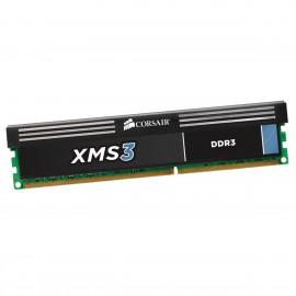 2Go RAM CORSAIR XMS3 CMX2GX3M1A1333C9 DDR3 PC3-10600U 1333Mhz 240-Pin 1.5v CL9