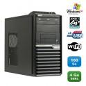 PC ACER Veriton M421G Tour Athlon X2 4850B 2.5Ghz 4Go 160Go WIFI Graveur XP Pro