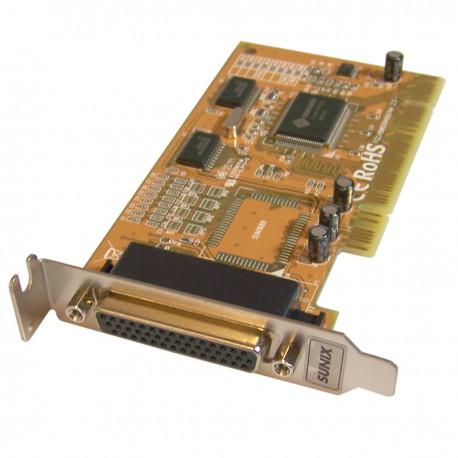 Carte PCI Parallèle LPT 44-Pin SUNIX PK690 H9MSER40XX ZL 97 2 5096.X Low Profile