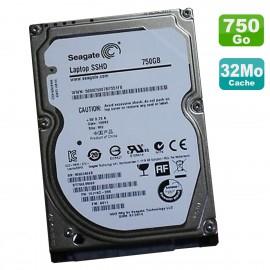 """Disque Dur SSHD 750Go SATA 2.5"""" Seagate ST750LM000 1EJ16C-285 5400RPM 32Mo"""