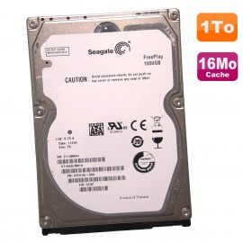 "Disque Dur 1To SATA 2.5"" Seagate FreePlay ST1000LM010 9YH146-550 5400RPM 16Mo"