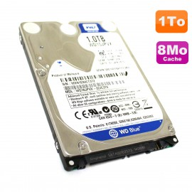 "Disque Dur 1To SATA 2.5"" WD Scorpio Blue WD10JPVX-22JC3T0 PC Portable 8Mo"