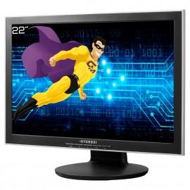 "Ecran PC 22"" HYUNDAI N220W N220WD LCD TFT 2x VGA DVI Audio VESA WideScreen"