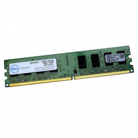 2Go RAM PC Bureau DELL SNPYG410C/2G DIMM DDR2 PC2-6400U 800MHz 240-Pin 2Rx8 CL6