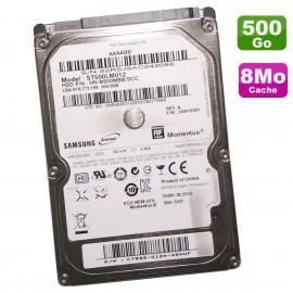"""Disque Dur 500Go SATA 2.5"""" Samsung SpinPoint HN-M500MBB/SCC PC Portable 8Mo"""