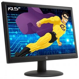 """Ecran PC 19.5"""" HP V201a HSTND-4081-F LED TFT WideScreen VGA 16:9 VESA 1600x900"""