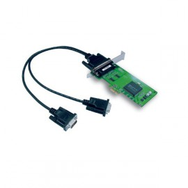 Carte PCI-E EXPRESS Série 2 Ports RS232 DB9 Moxa CP-102EL Linux Windows