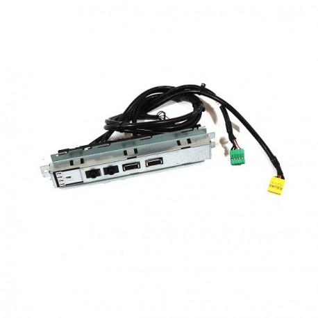 Front Panel Facade Dell Optiplex 390DT 3010DT R4V2G Led + USB x2 + Audio