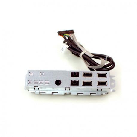 Front Panel Facade Dell Optiplex 790SFF 990SFF 87G1H Led + USB x4 + Audio