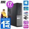 PC Dell 3010 DT i7-3770 RAM 8Go SSD 120Go HDMI Windows 10 Wifi