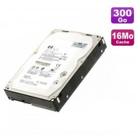 """Disque Dur 300Go SAS 3.5"""" HP EF0300FATFD 533871-001 516832-002 0B24475 15K 16Mo"""