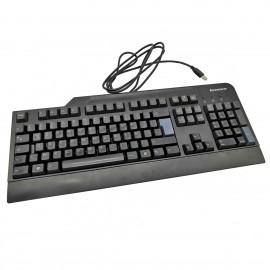 Clavier USB PC AZERTY Lenovo SK-8825 41A5111 Filaire Noir