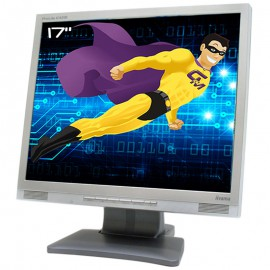 "Ecran PC 17"" iiYAMA ProLite E431S PLE431S-S1S LCD TFT TN VGA DVI-D 5:4 1280x1024"