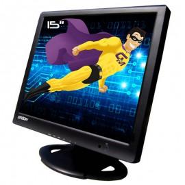 """Ecran PC 15"""" ORION 15RTV LCD TFT VGA 2x RCA 4x BNC NTSC PAL 2x S-Video"""