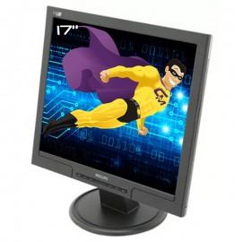 """Ecran PC Pro 17"""" PHILIPS 170S 170S7FB HNS7170T LCD TFT VGA DVI-D 1280x1024 VESA"""