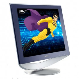 "Ecran Plat PC Pro 15"" SONY SDM-HS53 LCD TFT VGA 1024x768 4:3"