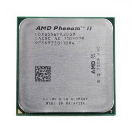 Processeur CPU AMD AMD Phenom II x2 B55 3.0ghz 6Mo HDXB55WFK2DGM Socket AM2+ AM3