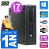 PC HP EliteDesk 800 G1 Core i7-4790 RAM 16Go SSD 240Go Windows 10 Wifi