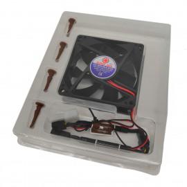 Ventilateur PC SUPER FAN SDF8025M12S 12V 0.14A 80x80x22mm Molex NEUF