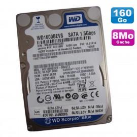"Disque Dur 160 Go SATA II 2.5"" WD Scorpio Blue WD1600BEVS-08VAT2 42T1098 42T1578"