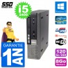 Ultra Mini PC Dell Optiplex 7010 USFF i5-2400 RAM 8Go SSD 120Go Windows 10 Wifi