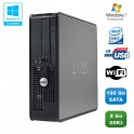 PC DELL Optiplex 780 Sff Core 2 Duo E7500 2,93Ghz 8Go DDR3 160Go WIFI Win 7 Pro