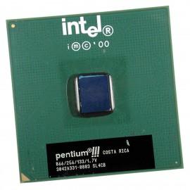 Processeur CPU Intel Pentium 3 866Mhz SL4CB FSB 133Mhz 256Ko Socket 370 MonoCore