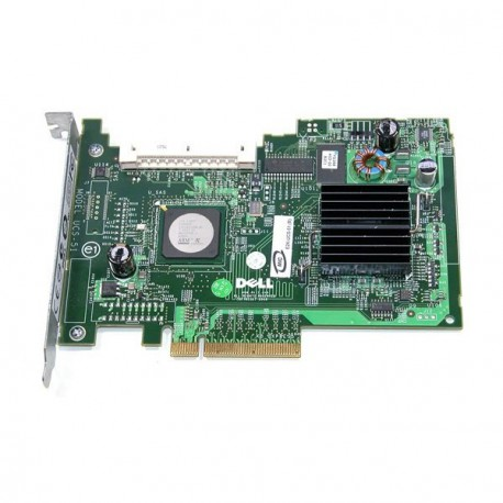 DELL Carte Contrôleur SAS E2K-UCS-51 Pci-E Express Sata RAID SAS SCSI PowerEdge