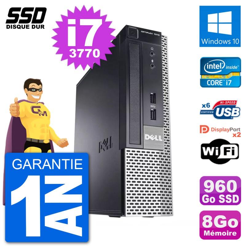 Details about Ultra Mini PC Dell Optiplex 7010 Usff I7-3770 RAM 8gb SSD  960go Windows 10 Wifi