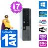 Ultra Mini PC Dell 790 USFF i7-2600 RAM 8Go Disque Dur 250Go Windows 10 Wifi
