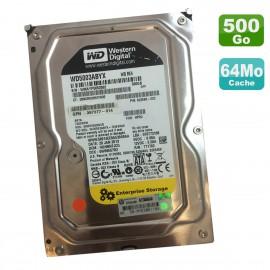 "Disque Dur 500Go SATA 3.5"" WD HP WD5003ABYX-70WERA0 397377-022 622598-002 64Mo"
