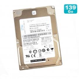 "Disque Dur 139Go 2.5"" SAS IBM Seagate ST9146853SS 00E6166 9SV066-039 15K"