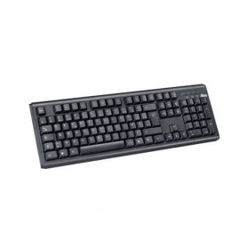 Clavier USB HEDEN CLAUSBCA00 AZERTY Keyboard 108 touches Noir