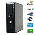 PC DELL Optiplex 740 SFF AMD Athlon 64 2.7GHz 1Go DDR2 80Go WIFI DVD Win XP Pro