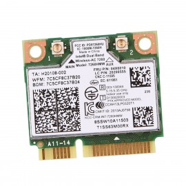 Mini Carte Wifi Intel AC 7260 7260HMW H20108-002 P097260HU 04X6010 20200555