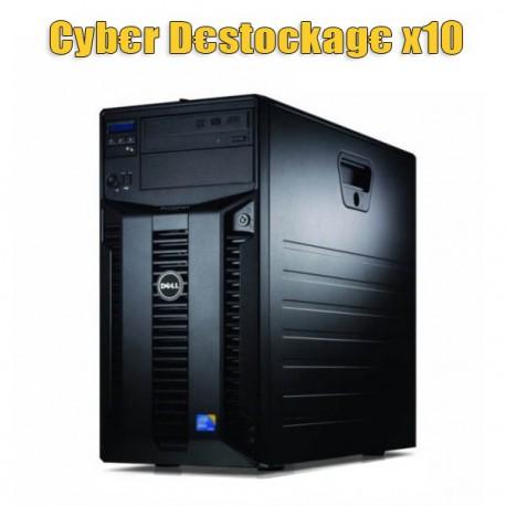 Lot 10x Serveurs DELL PowerEdge T310 Xeon Quad Core X3460 2.8Ghz 4Go 146Go SAS