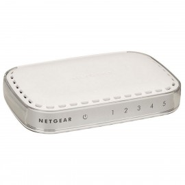 Switch NETGEAR GS605 272-11227-01 5x RJ-45 Gigabit WAN LAN