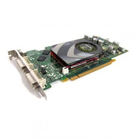 Carte Graphique NVIDIA Quadro FX1500 PCI-Express 256Mo GDDR3 Dual DVI-I TV-Out