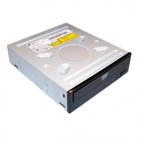 """Lecteur DVD Interne Noir Hitachi LG DH10N SATA 48x/16x PC Bureau 5""""25 Noir"""