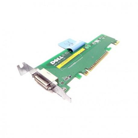 Carte Adaptateur DVI DDC 1 DELL 0JK171 P/N 316754000502 D43007 Low Profile