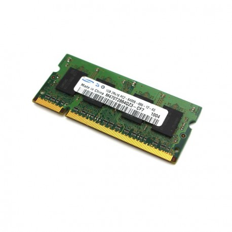 RAM PC Portable SODIMM Samsung M470T2864QZ3-CF7 DDR2 800Mhz 1Go PC2-6400S CL6