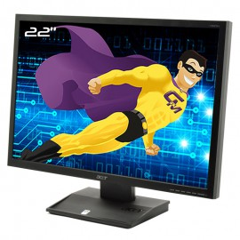 "Ecran PC 22"" ACER V223WAb ET.EV3WE.A03 LCD TFT TN VGA WideScreen 1680x1050 16:10"